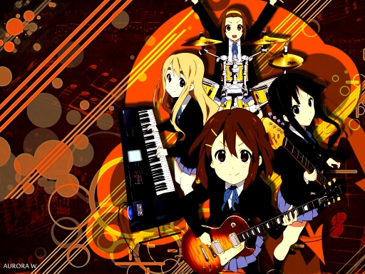 K-ON (eternity XD )