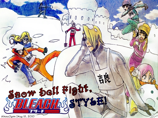 Snowball Fight BLEACH STYLE!