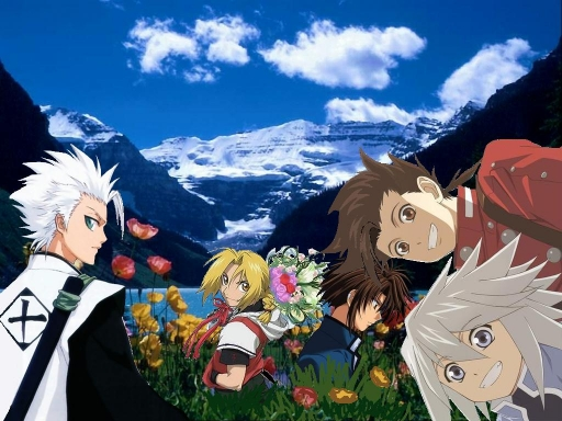 Hitsugaya+Friends