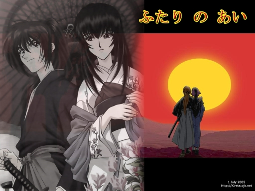 Kenshin With 2 Lovers
