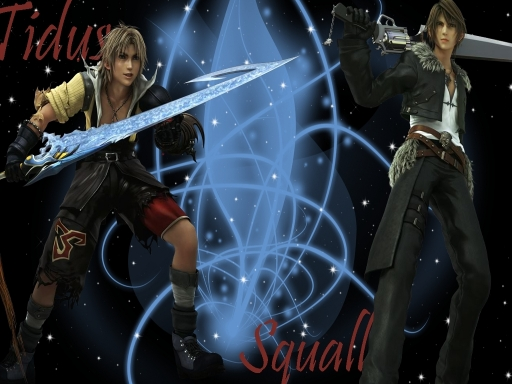 Squall and Tidus