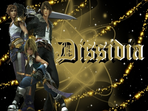 Squall, Zidane, and Bartz