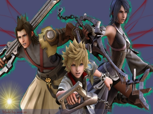 Terra, Ventus, Aqua