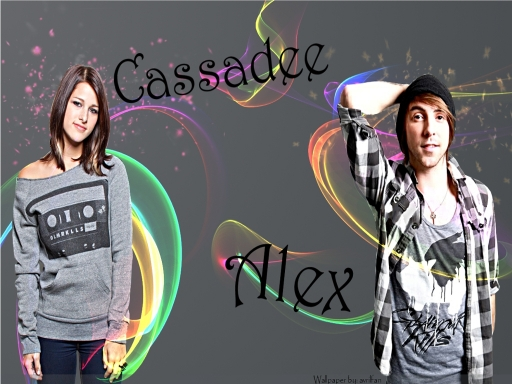 Alex Gaskarth and Cassadee Pop