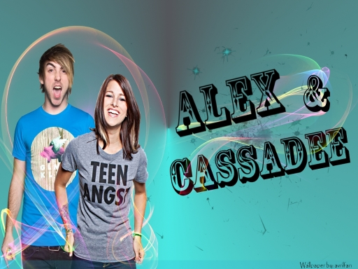 Alex Gaskarth & Cassadee P