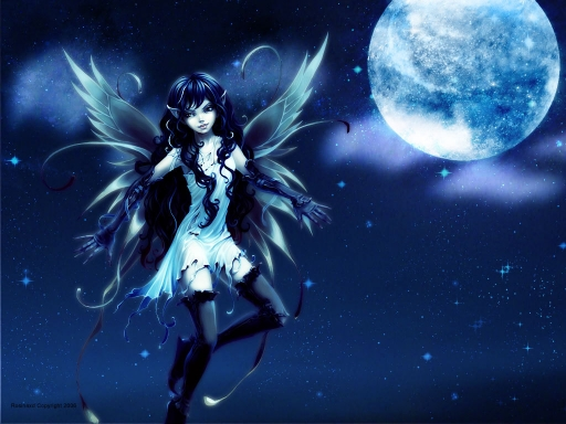 blue fairy, new moon