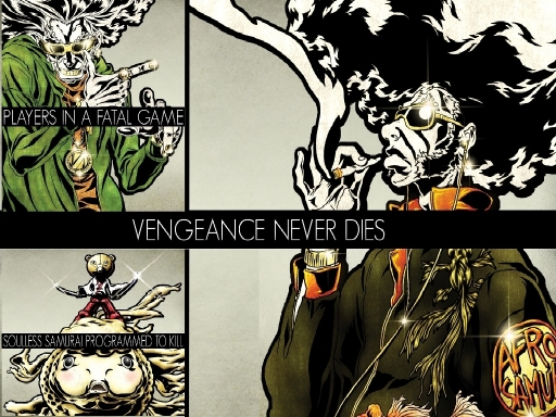 VENGEANCE  NEVER  DIES