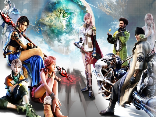 Final Fantasy XIII - Everyone