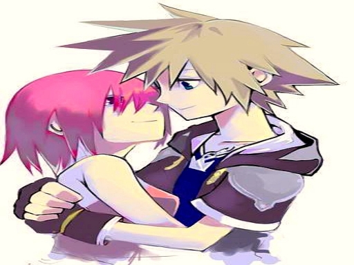 Sora and Kairi