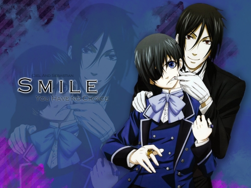 Smile-Ciel And Sebastian