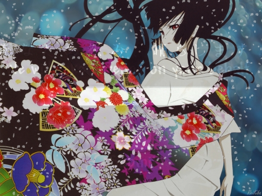 Jigoku Shoujo- Blue