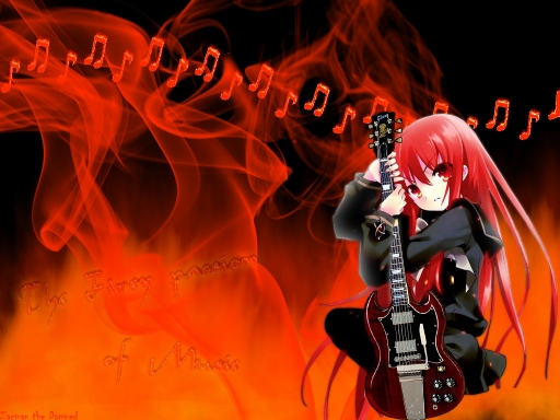 Fiery passion of Music