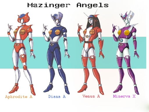 mazinger angels