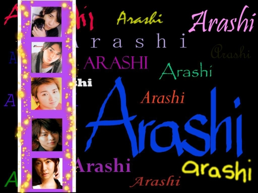 another Arashi wallpaper...