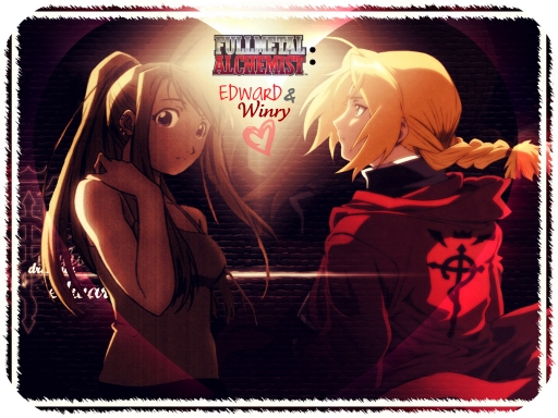 Ed+Winry= &lt;3