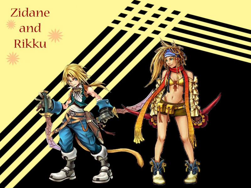 Zidane and Rikku