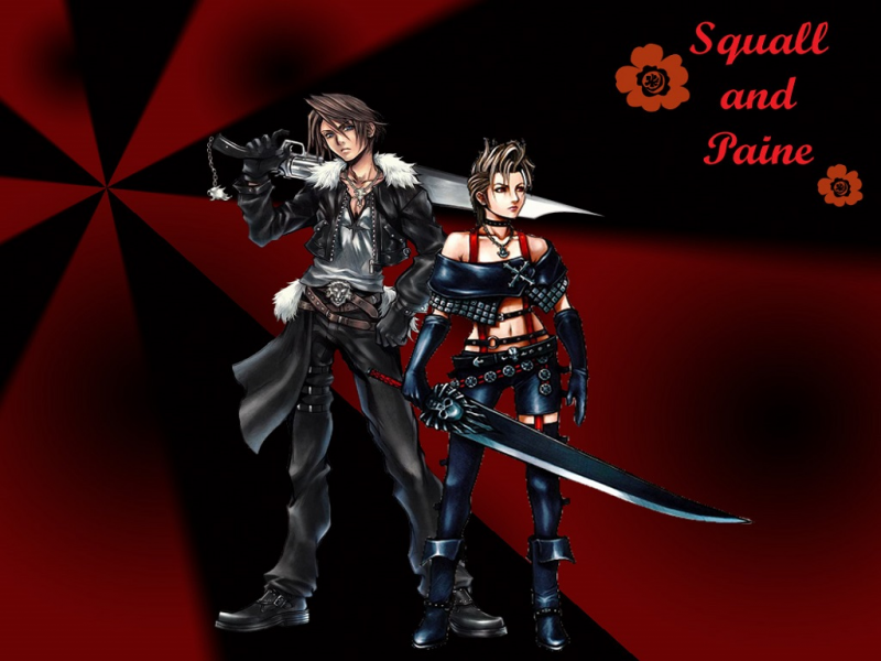 Squall and Paine