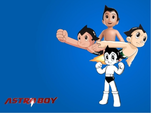 Astro Boy through the years
