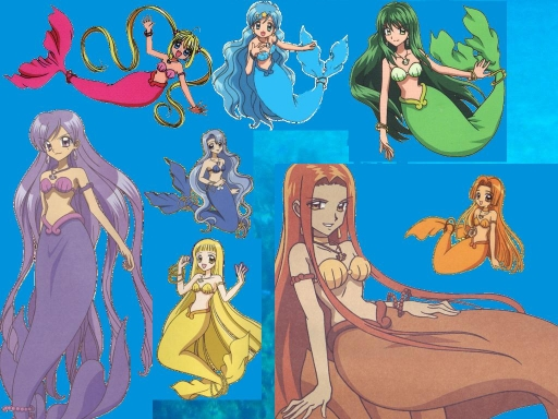 mermaid princess hang-out