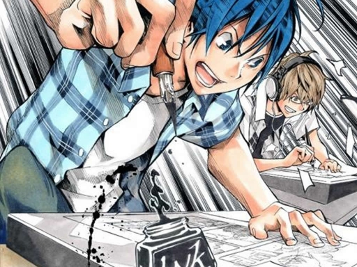 bakuman art