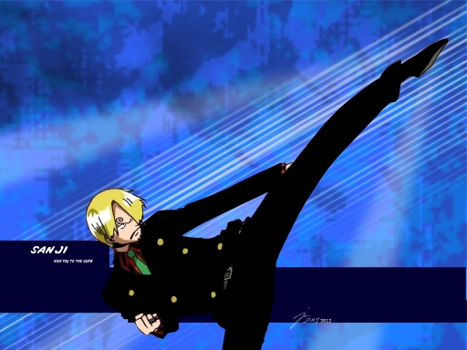 Sanji Kick you to the Curb