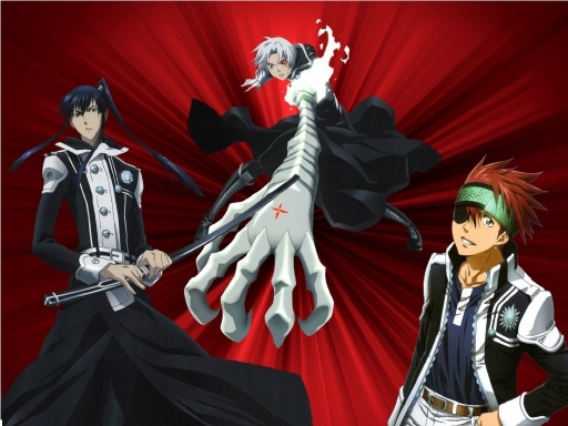 D-Gray Man Men