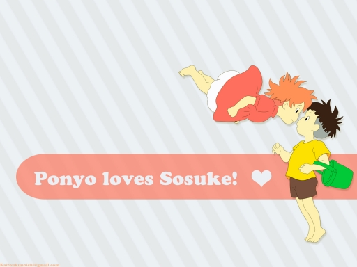 Ponyo Loves Sosuke