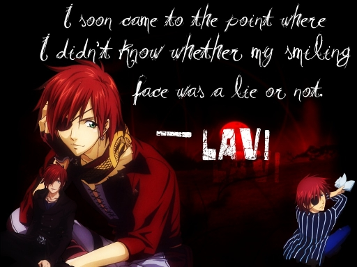Lavi- My Smiling face a lie or
