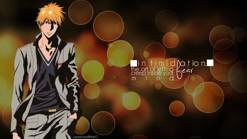 [ timid in a suit. ]