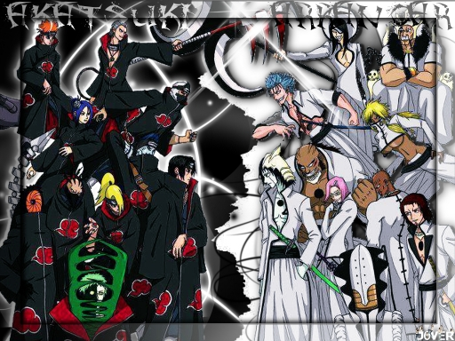 Akatsuki VS Arrancar