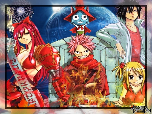 Fairy Tail Fireworks