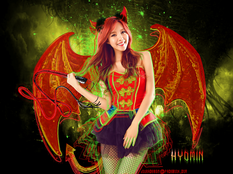 Hyomin[Devil mode]