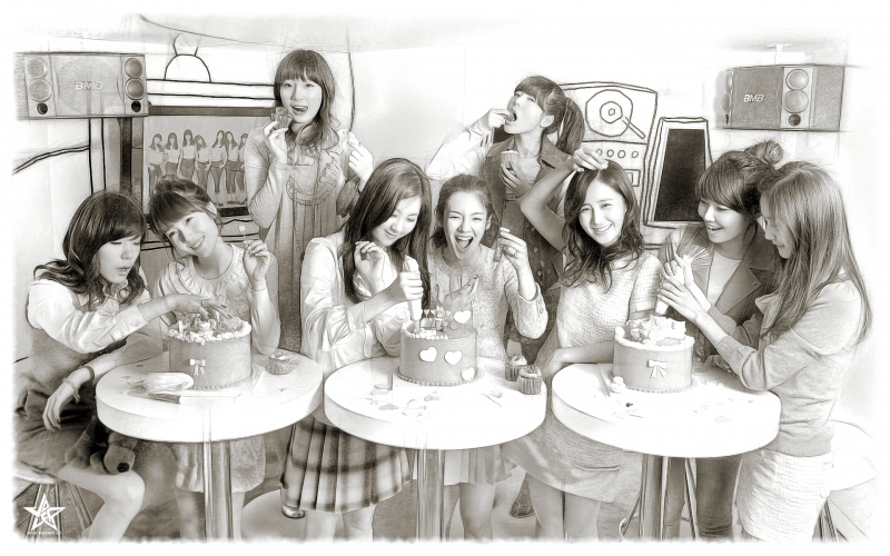 snsd [back to the old days]