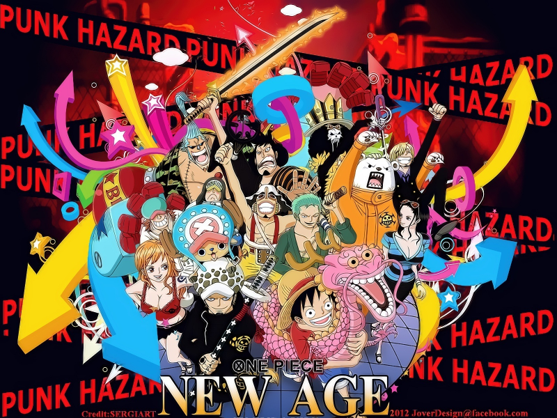 One Piece PUNK HAZARD ARC