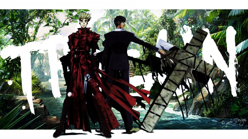 Trigun:Vash X Wolfwood