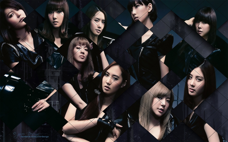 Snsd:Black is good