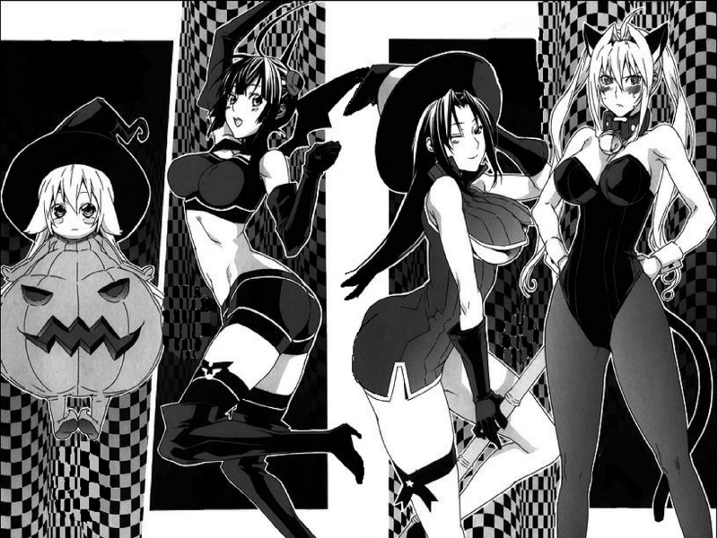 Sekirei Halloween Party