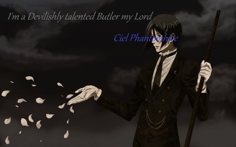 Loyal butler