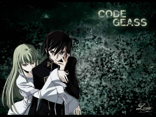 CC and Lelouch Green scenery