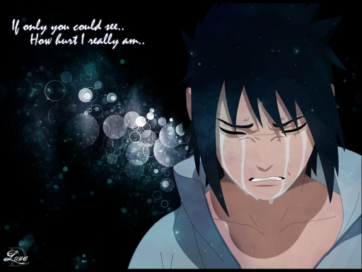 Sasuke Crying