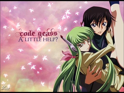 C.C and Lelouch: A Little Help