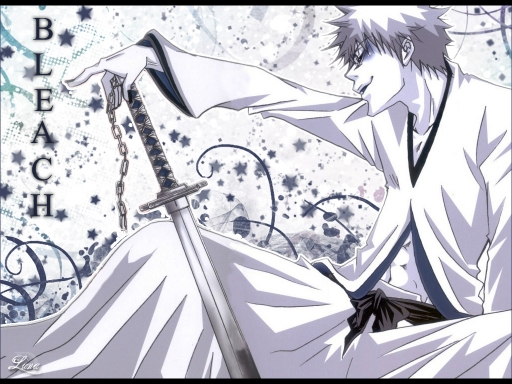 Bleach Ichigo white