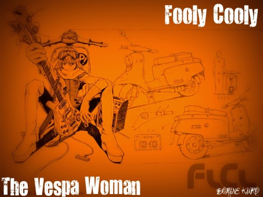 The Vespa Woman