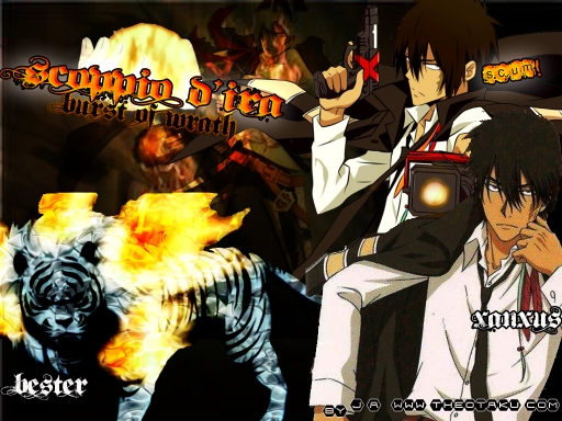 Hitman Reborn wallpaper Xanxus