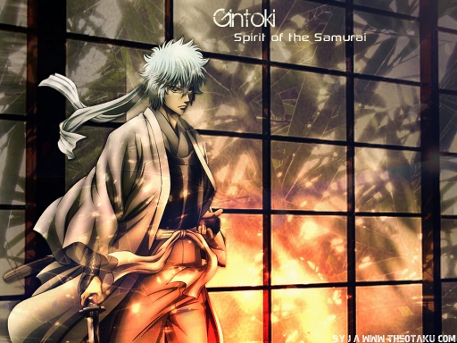 Spirit of the samurai {Gintoki