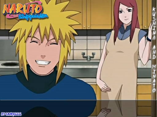Kushina and Minato