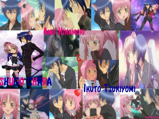 Shugo Chara Amu and Ikuto
