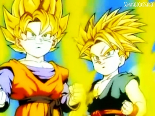 Goten&Trunks Super Saiyan