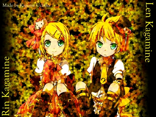 Twins of Family Kagamine