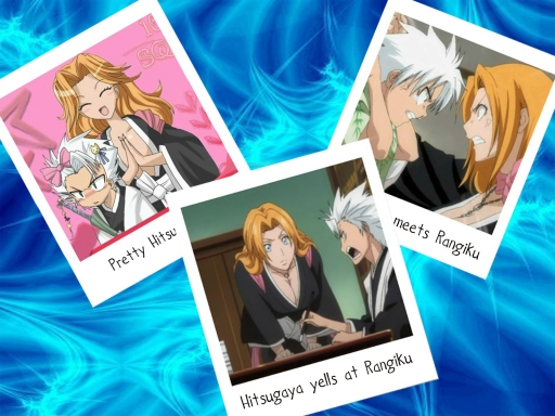 Hitsugaya and Rangiku Memories